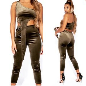 Other - Kim K velour set